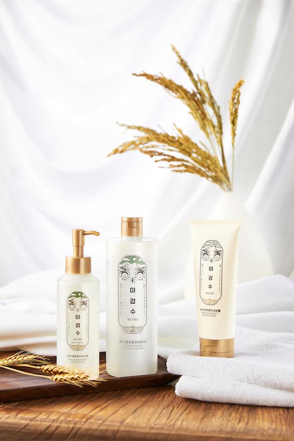 菲诗小铺全新推出米水清洁系列产品
